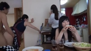XXX Honey : Japanese MILF do Housework and get Fucked at the same Time  OnMilfCamcom
