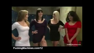 XXX Honey : Four Babes and a Machine